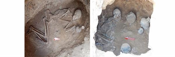شناسایی 39 گور در چهارمین فصل از پژوهش های میدانی گورستان باستانی لیارسنگ بن