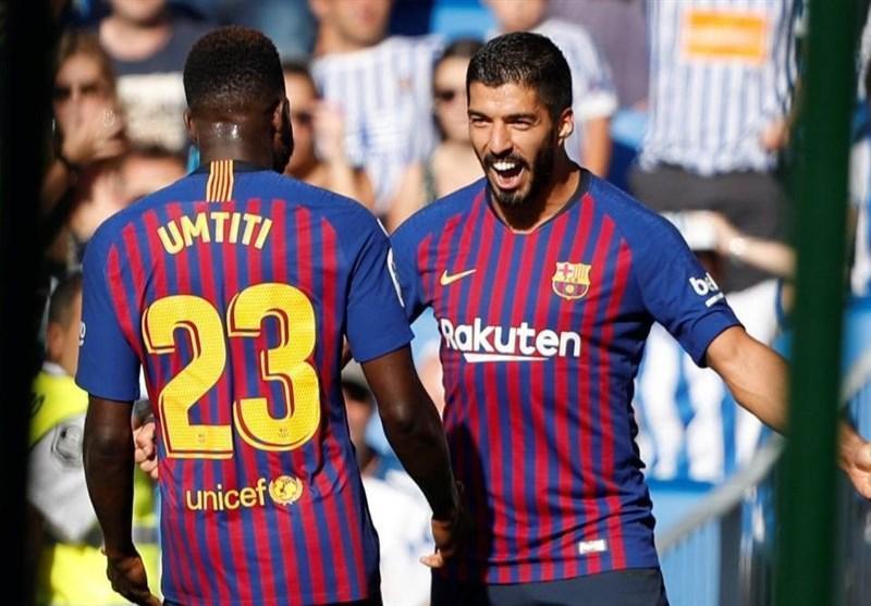 فوتبال دنیا، بارسلونا درآنوئتا به برتری هایش ادامه داد