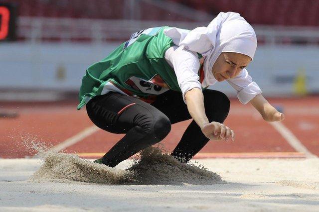 زهرا برناکی در پرش طول بانوان سوم شد