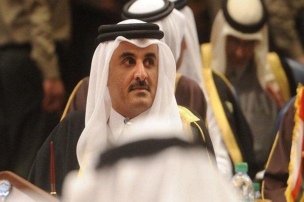 امیر قطر با همتای کویتی خود دیدار کرد