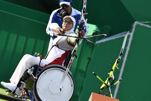 حذف زهرا نعمتی از مسابقات تیروکمان آزمایشی المپیک