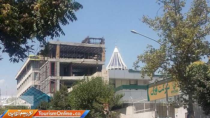 هیچ مجوزی برای شکستن حریم بنای تاریخی کلیسای سرکیس داده نشده است