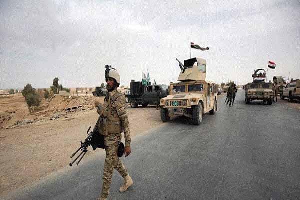 عملیات ضد تروریستی نیروهای عراقی در منطقه مطیبیجه