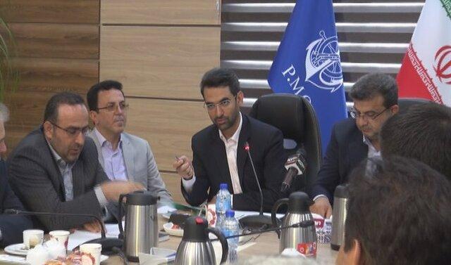 افتتاح طرح توسعه ترمینال فرودگاه نوشهر با حضور وزیر ارتباطات