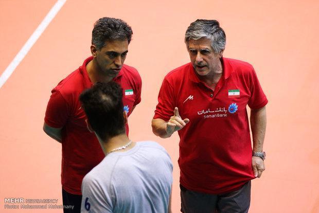 برنامه تمرینات تیم ملی والیبال در تهران اعلام شد