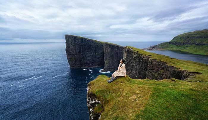 این زنان گردشگر ولخرج!، سفرهای لاکچری؛ از کوه های یخی ایسلند تا جزایر فارو دانمارک، تصاویر
