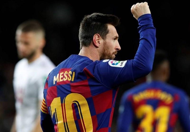لالیگا، بارسلونا با گلزنی مسی صدر جدول را از رئال مادرید پس گرفت