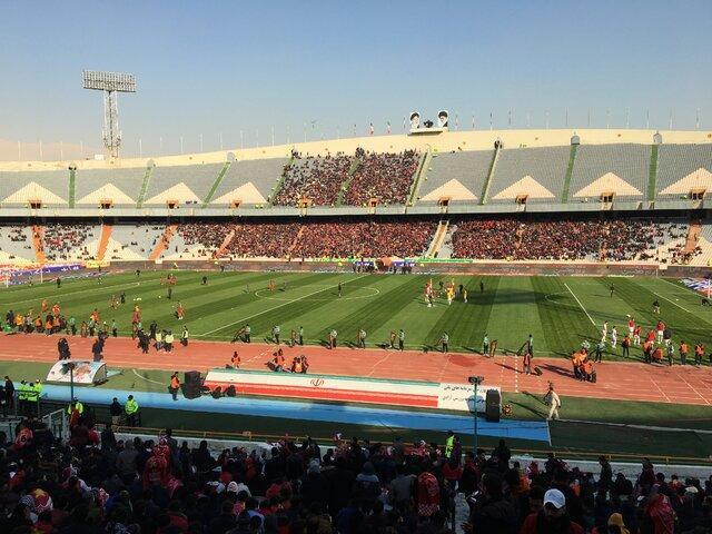 بازهم پرچم ژاپن در دستان طرفداران تراکتور!