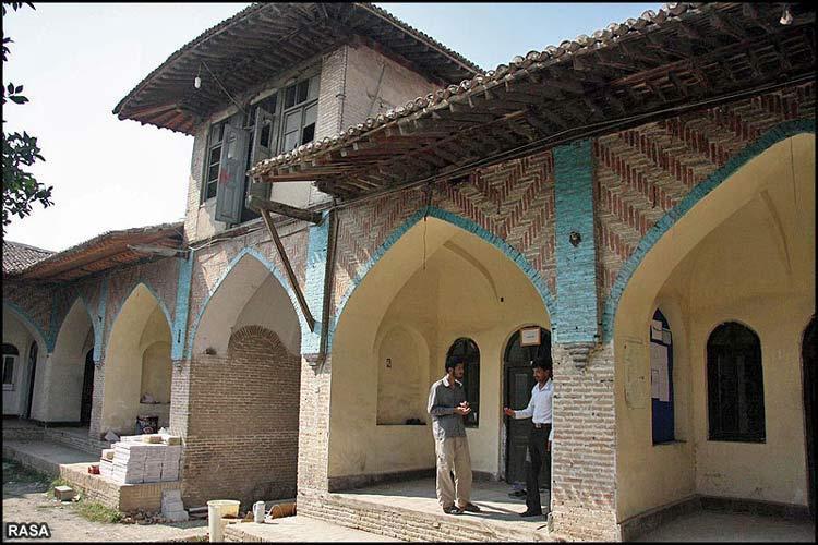 مدرسه عمادیه گرگان مرمت و بازسازی شد