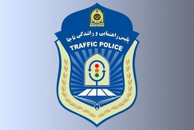پلیس راهور، ترافیک نیمه سنگین در محدوده ورودی پایتخت