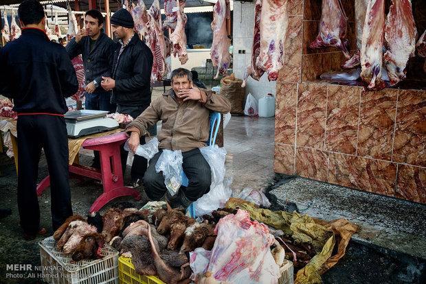 فضای نامناسب بازار سبزه میدان زیبنده شهر همدان نیست