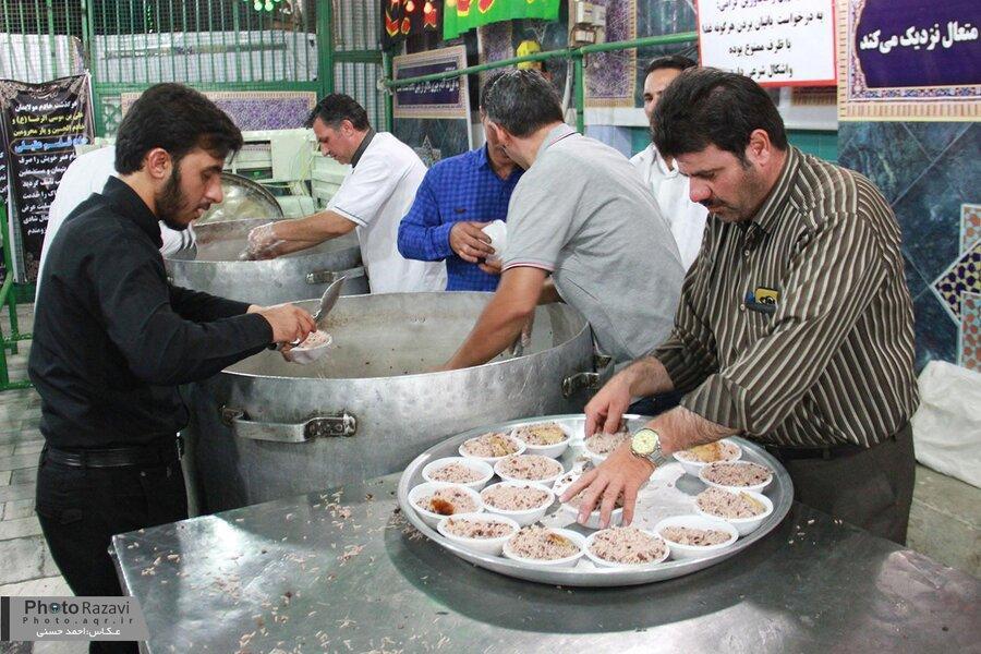 ممنوعیت توزیع نذری خوراکی در شیراز