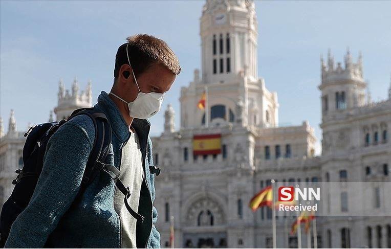کرونا در اسپانیا، 1720 نفر از مبتلایان قربانی شدند