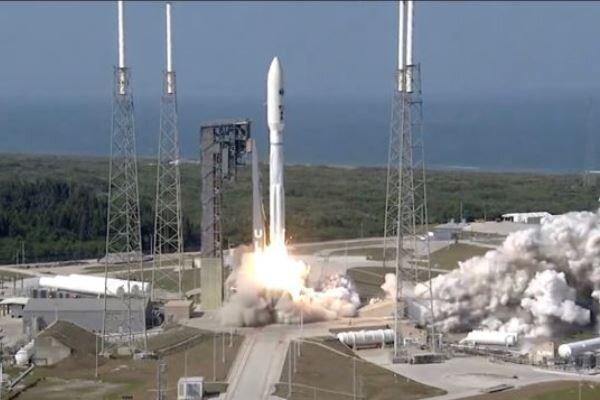 آمریکا یک ماهواره نظامی فوق امنیتی پرتاب کرد