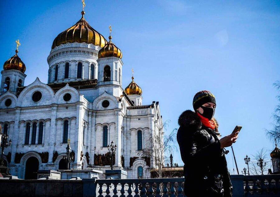 قرنطینه خانگی جمعیت 147 میلیونی روسیه به دستور پوتین