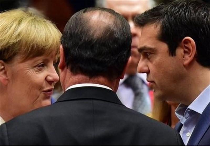 رهبران فرانسه، آلمان و یونان به توافق اولیه بر سر بسته نجات اقتصادی دست یافتند