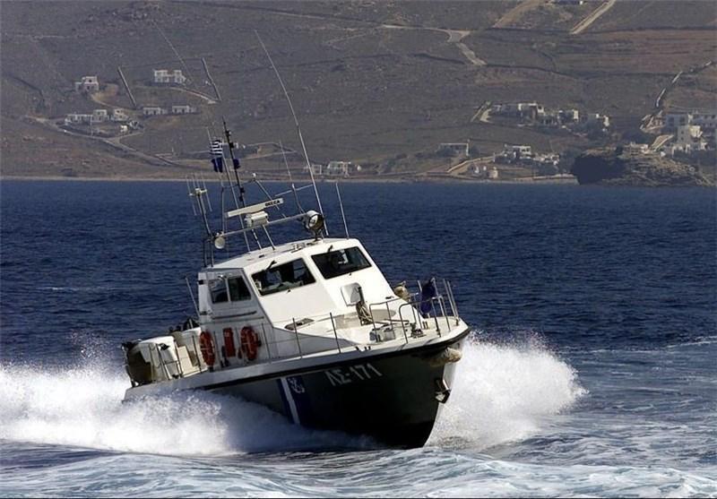 غرق کردن قایق پناهجویان سوری توسط گارد ساحلی یونان