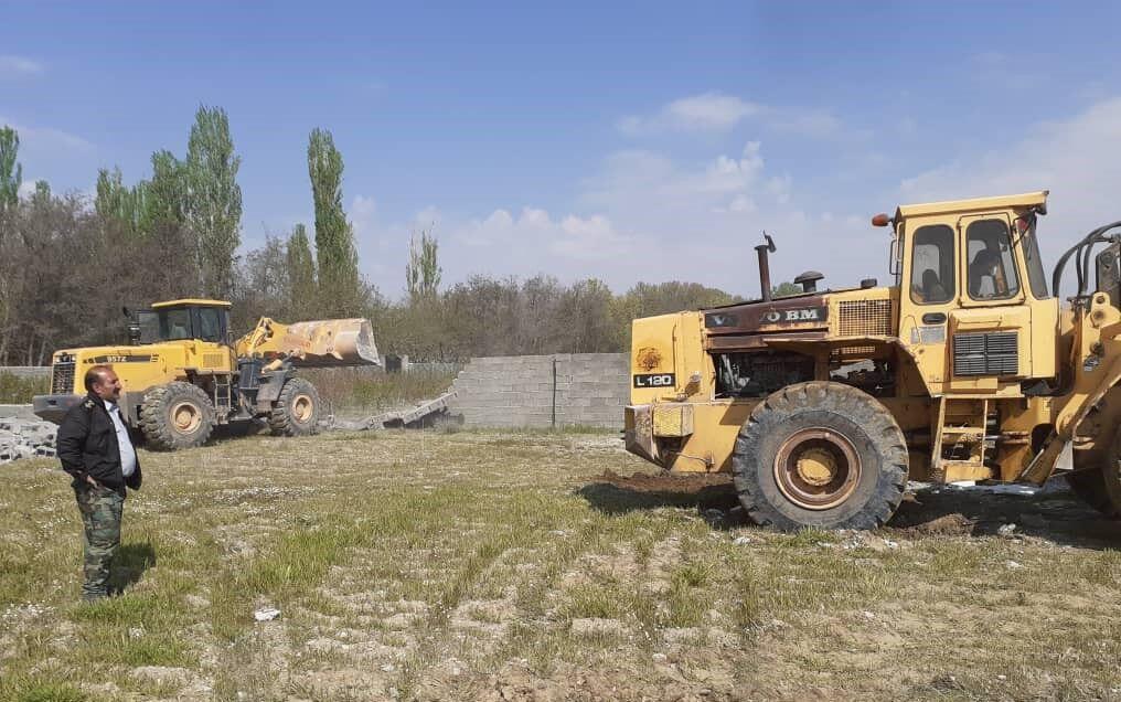 خبرنگاران رفع تصرف 120هزار متر مربع اراضی ملی و کشاورزی در ساوجبلاغ