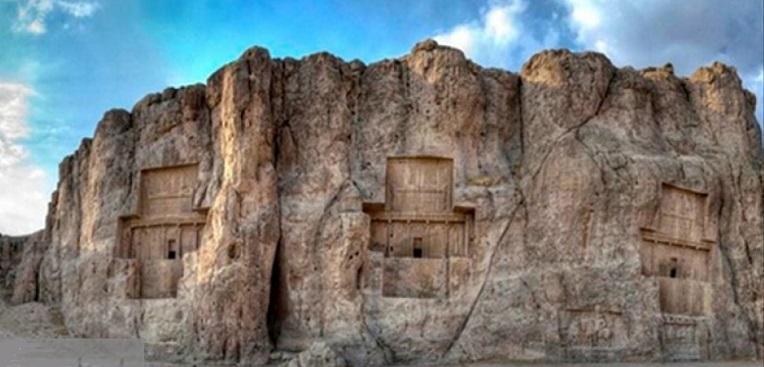 کتیبه ساسانیان در نقش رستم پیدا شد