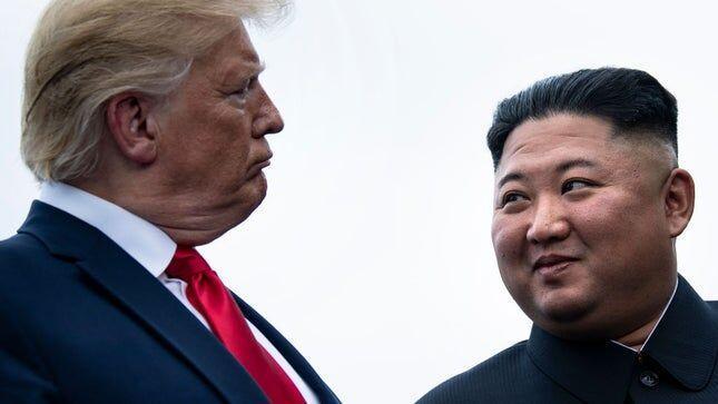 خبرنگاران ترامپ خبر مریضی رهبر کره شمالی را نادرست خواند