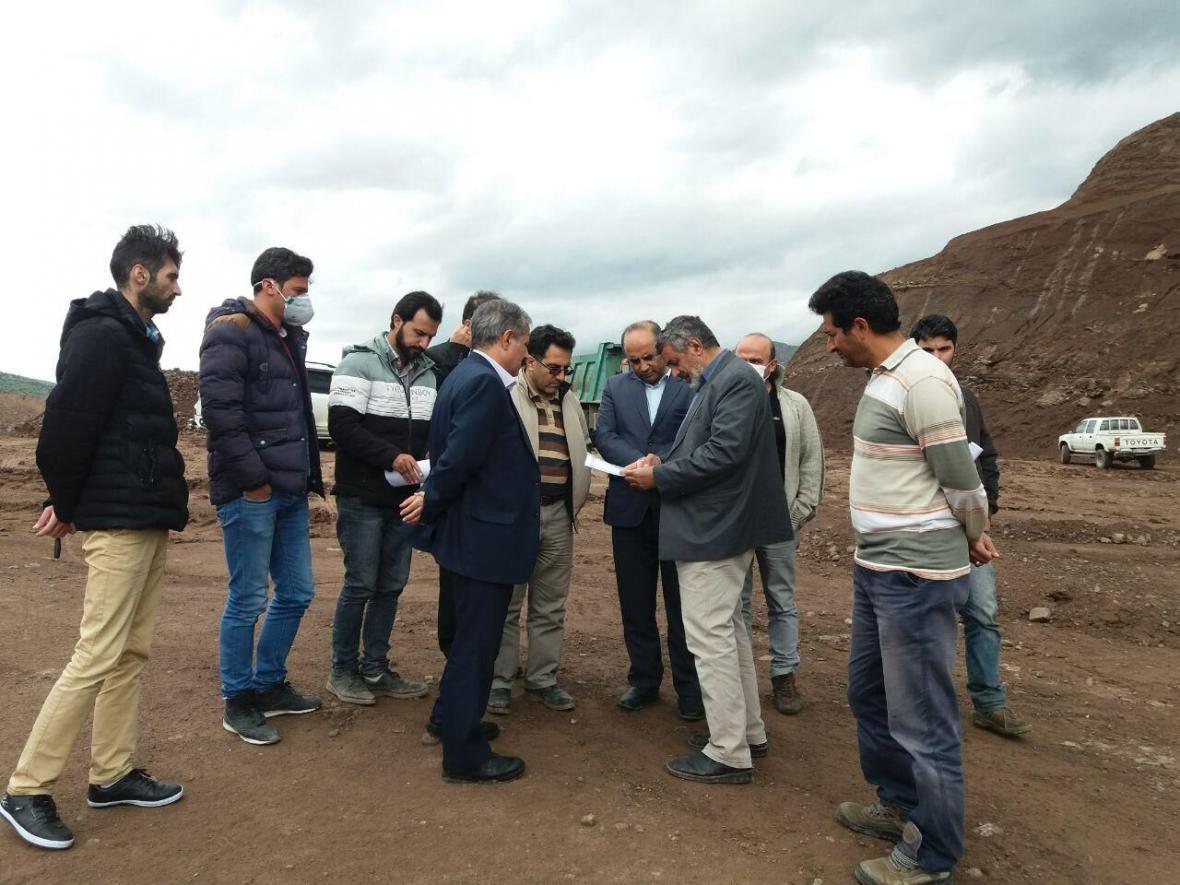 خبرنگاران پروژه راه سازی خلخال - منجیل فعال شد
