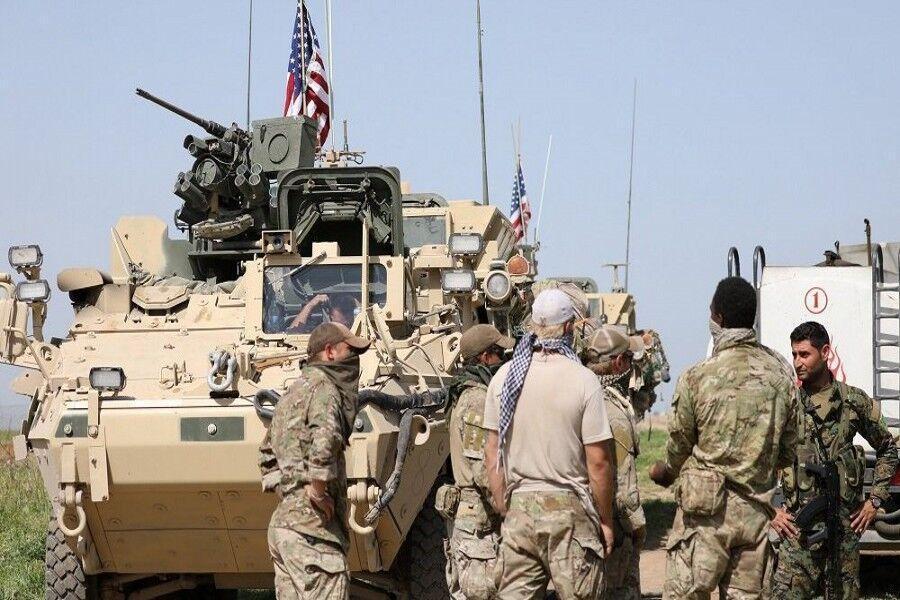 خبرنگاران ورود زرهپوش های آمریکایی به میدان های نفتی سوریه