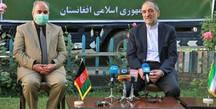 ایران 11 تن تجهیزات پزشکی برای مبارزه با کرونا به افغانستان اهدا کرد
