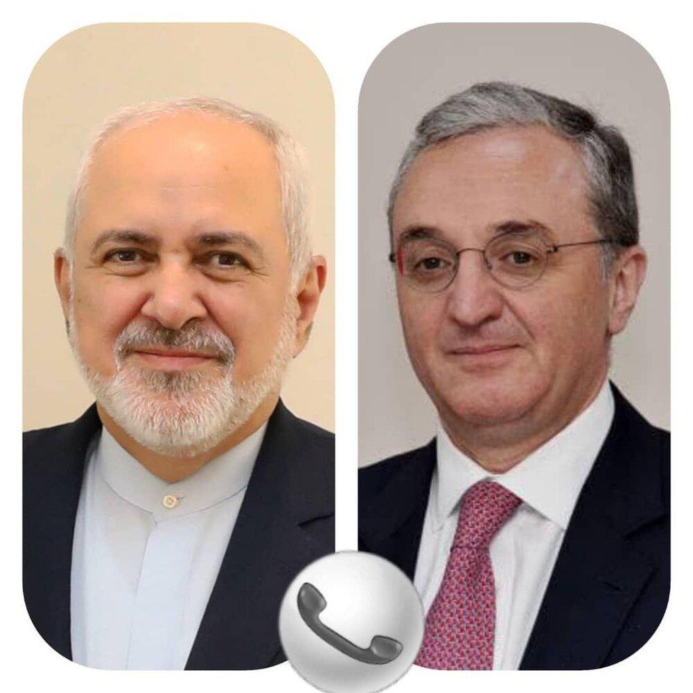 در گفتگوی ظریف با همتای ارمنستانی چه گذشت؟