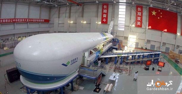 هواپیمای چینی که با ایرباس و بوئینگ رقابت می نماید!