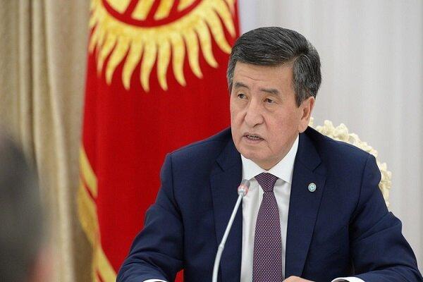 اعلام آمادگی رئیس جمهور قرقیزستان برای کناره گیری از قدرت