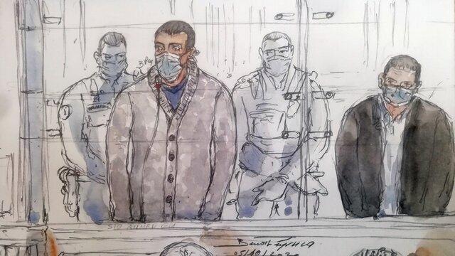 محکومیت یک تروریست الجزایری به حبس ابد در فرانسه