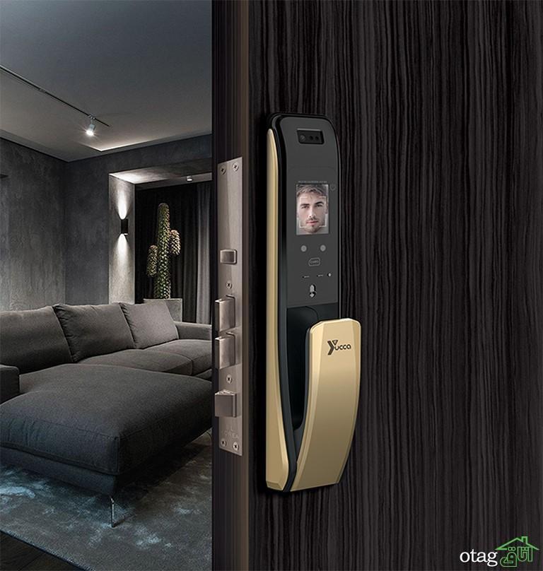 از دردسر قفل ها و کلیدهای درب منزلتان خسته شده اید؟
