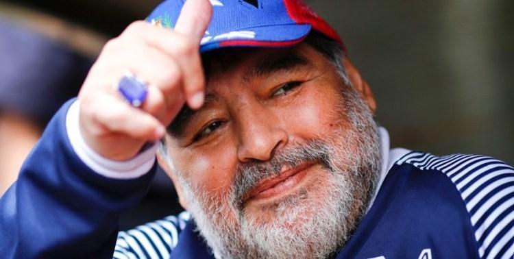 (عکس) اقدام خاص باشگاه لاتزیو برای ادای احترام به مارادونا