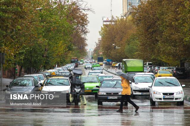 میزان بارندگی لرستان 134 میلی متر است