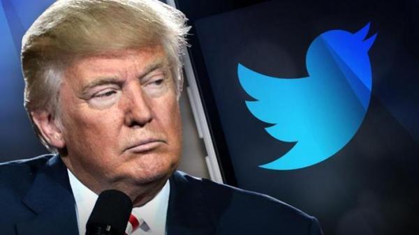 ساخت یک برچسب جدید توسط توییتر برای ترامپ