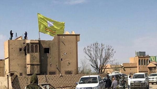 حمله شبه نظامیان قسد به تظاهرکنندگان سوری در دیرالزور