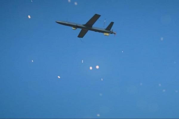 بمباران پایگاه ملک خالد عربستان سعودی توسط پهپادهای یمنی