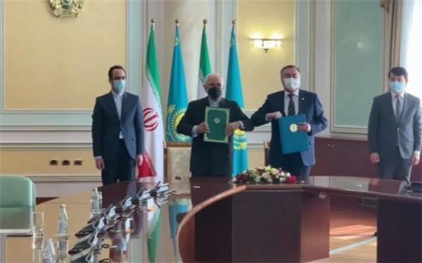 امضای برنامه همکاری ایران و قزاقستان