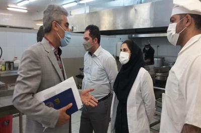 بازدید مدیر دانشجویی دانشگاه مازندران از رستوران میزبان