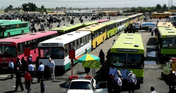 کرایه اتوبوس و تاکسی های بین شهری 30 درصد گران شد