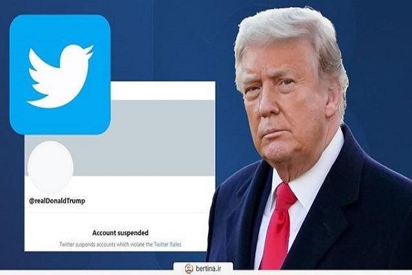 وبلاگ ترامپ بسته شد