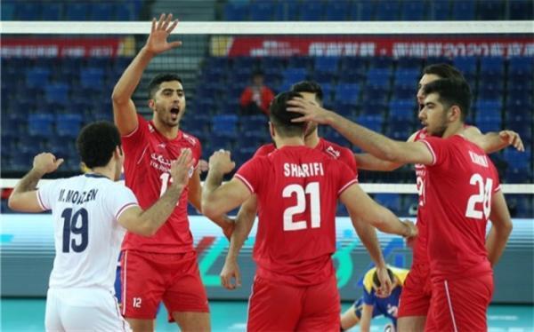 لیگ ملت های والیبال؛ ترکیب ایران برای ملاقات با استرالیا اعلام شد