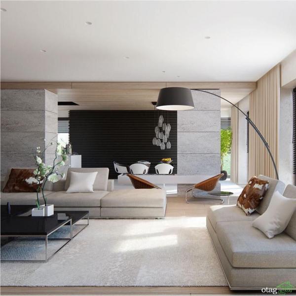 نکات و ویژگی های طراحی دکوراسیون داخلی مدرن برای منزل