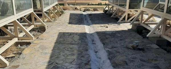 محوطه تاریخی معبد داش کسن بازسازی شد