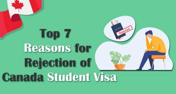 دلایل ریجکت شدن ویزای تحصیلی کانادا چیست؟