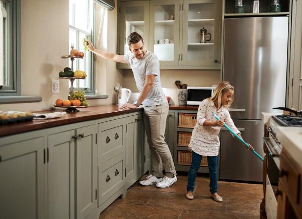 آشپرخانه؛ سخت ترین قسمت خانه تکانی